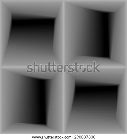 Illustration Geometric 3d Seamless Pattern, Abstract Background - raster - stock photo