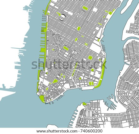 The Best New York City Maps Of Metrocosm The Evolving - New york city on us map