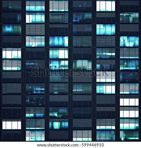 Digital Windows building window night stock images, royalty-free images & vectors