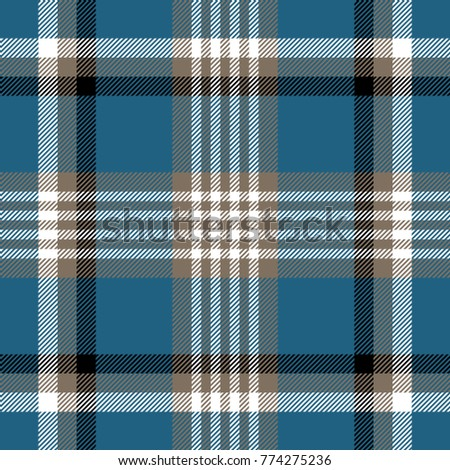 Illustration of a seamless plaid pattern designed from scratch (without reference image) for weaving tartans on artisanal looms.