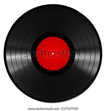Illustration of a vinyl record