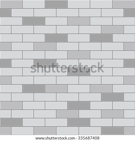 illustration of a white brick wall. The wall covers the illustration from corner to corner, serving as both the background and the image.