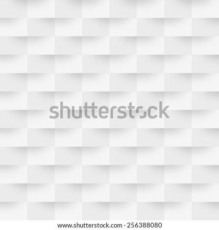 Illustration of abstract grey and white mosaic background - stock photo