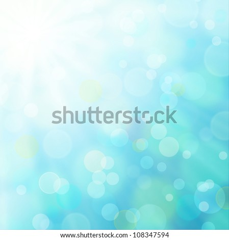 Illustration of abstract sunny background