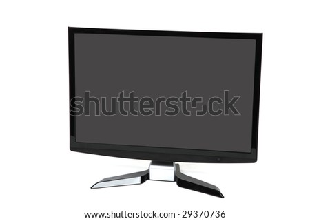 illustration of an LCD computer screen