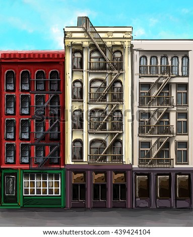 Brooklyn Building Stock Images Royalty Free Images Vectors