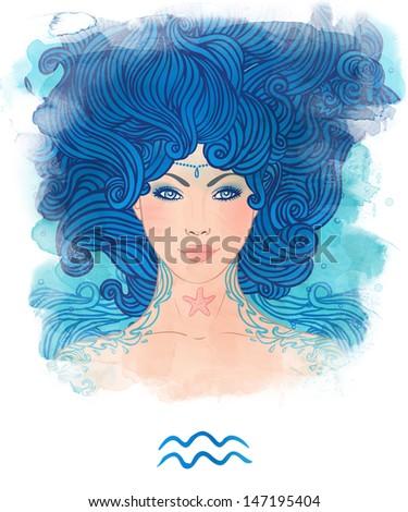 Женщина водолей психология