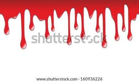 illustration blood dripping on floor stock illustration 160936226