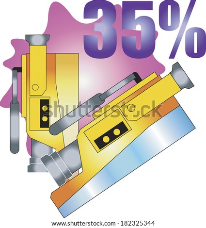 Illustration of camcorders on sale
