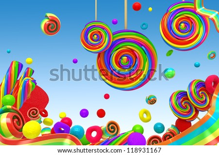 Candy Wallpaper Stock Images RoyaltyFree Images Vectors