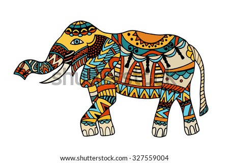 Decorated Indian Elephant Stock Photos, Images, & Pictures ...