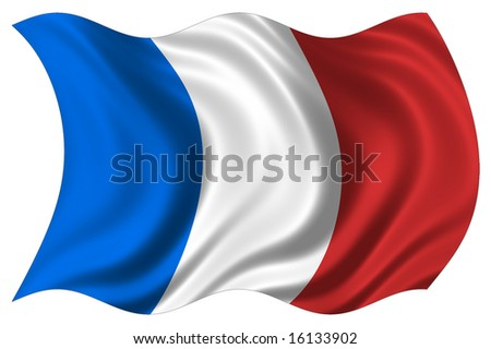 illustration of france flag
