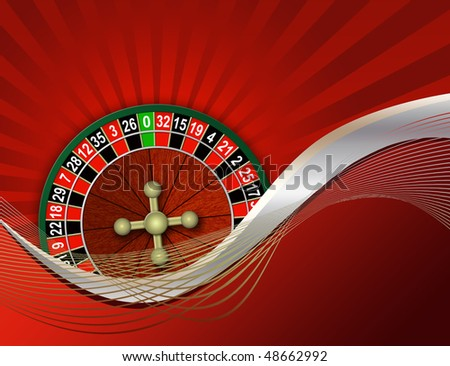 Illustration of game on an abstract background - stock photo