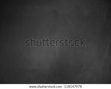 Illustration of grunge chalkboard, blackboard texture background. - stock photo