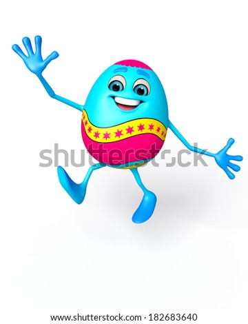 Illustration of Happy Easter Egg