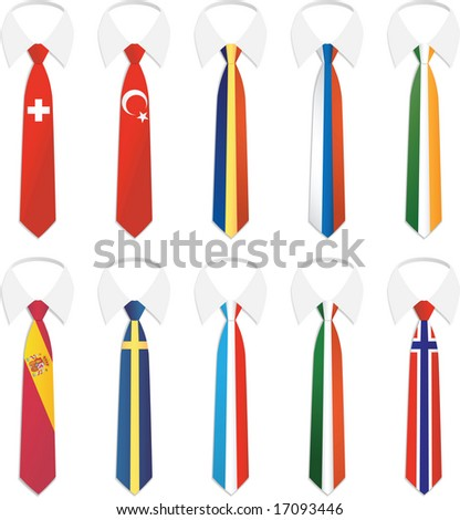 Illustration of Nationality Tie