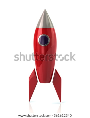 Red Rocket Icon Red Rocket Conc...