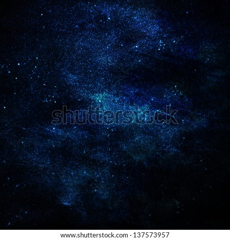 illustration of space with multiple stars