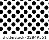 Illustration of the black circles at the white - stock photo