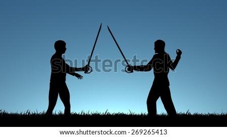 Shirtless men swordfighting in neighborhood not criminals: part of ...