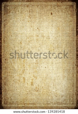 illustration old canvas texture - stock photo