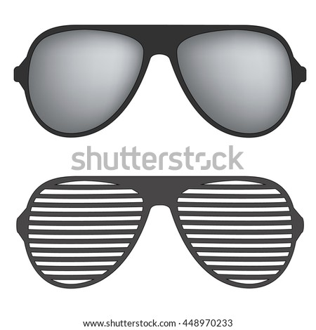 illustration sunglasses sun glasses eyeglasses