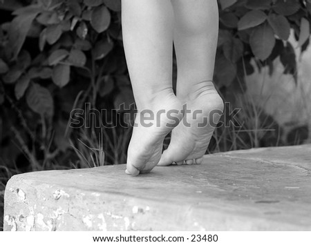 Im growing up - stock photo