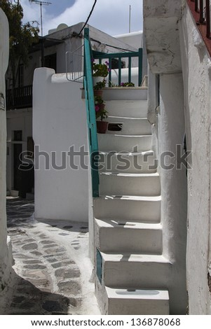Image from Mykonos, Cyclades, Greece
