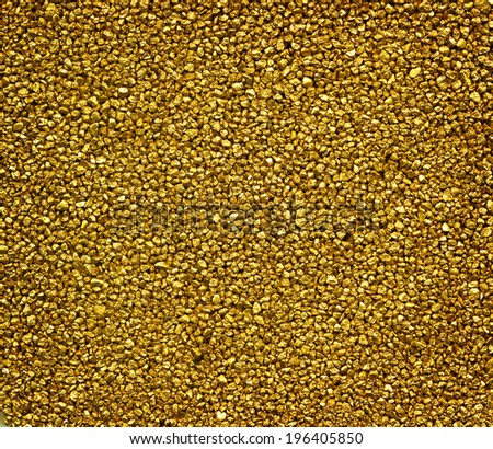 Image full of GOLD. - stock photo