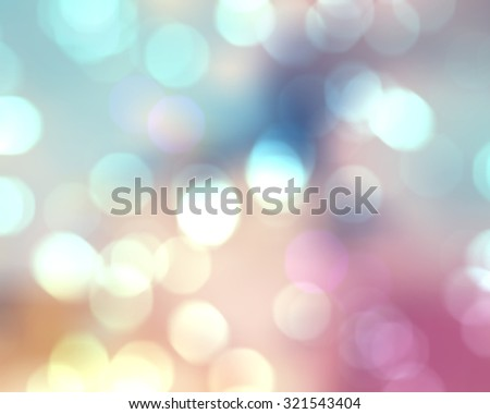 Image of a bright colorful bokeh background - stock photo
