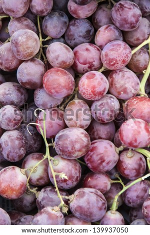 Image of a bunch of grappes