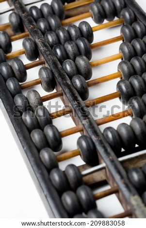 image of a Chinese abacus, calculating, finance,