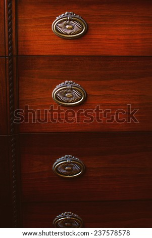 Image of a few lockers - stock photo