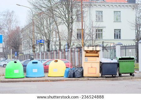 image of a rubbish heap - stock photo