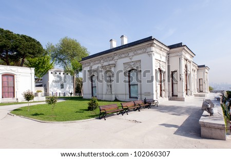 image of a section of the Topkapi palace istanbul turkey