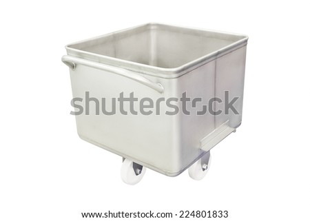 image of a trolley for bread