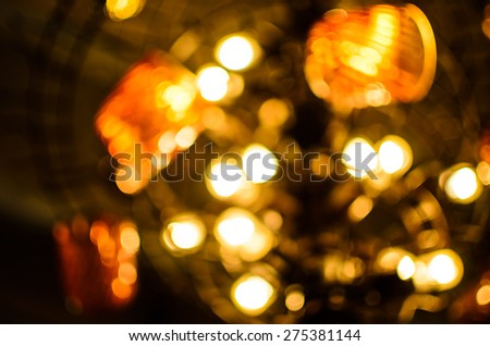 Image of Blur Light room - stock photo
