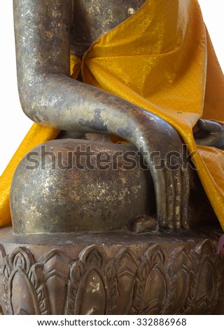 image of Buddha isolated background they are public domain or treasure of buddhism, no restrict in copy or use