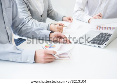 Image of business meeting