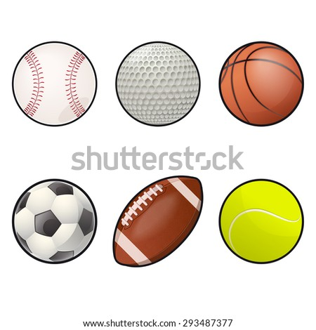 Image of collection of Ball icons