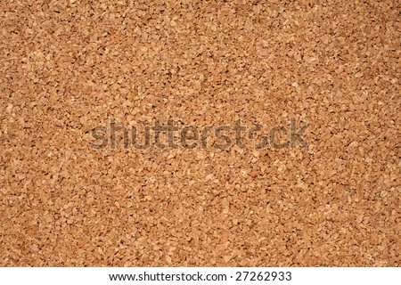 Image of corkboard for background.