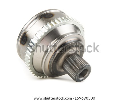Image of CV Joints. Constant Velocity Joints. Part wheel of the car. - stock photo