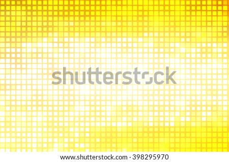 Image of defocused stadium lights.  Abstract gold background. - stock photo