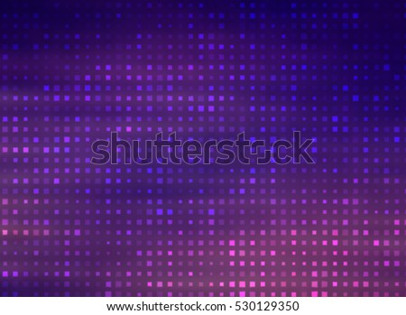Image of defocused stadium lights.  Abstract vintage background. illustration digital.