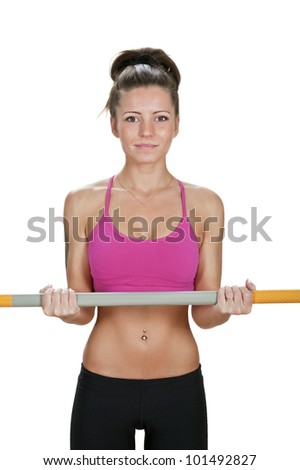 Image of female posing with Body Bar