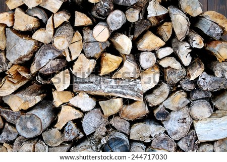Image of Firewood - stock photo