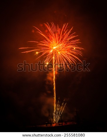 Image of Fireworks in Patras, Peloponnese, Greece