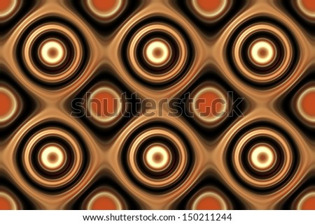 Image of illustration seamless retro background pattern.