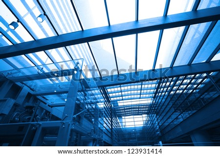 image of  in morden office building - stock photo