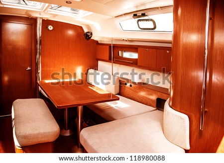 yacht interior stock photos images pictures shutterstock. Black Bedroom Furniture Sets. Home Design Ideas